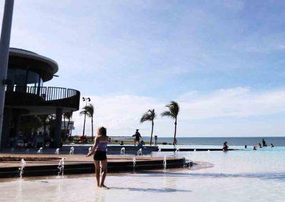 Yeppoon Lagoon infinity pool